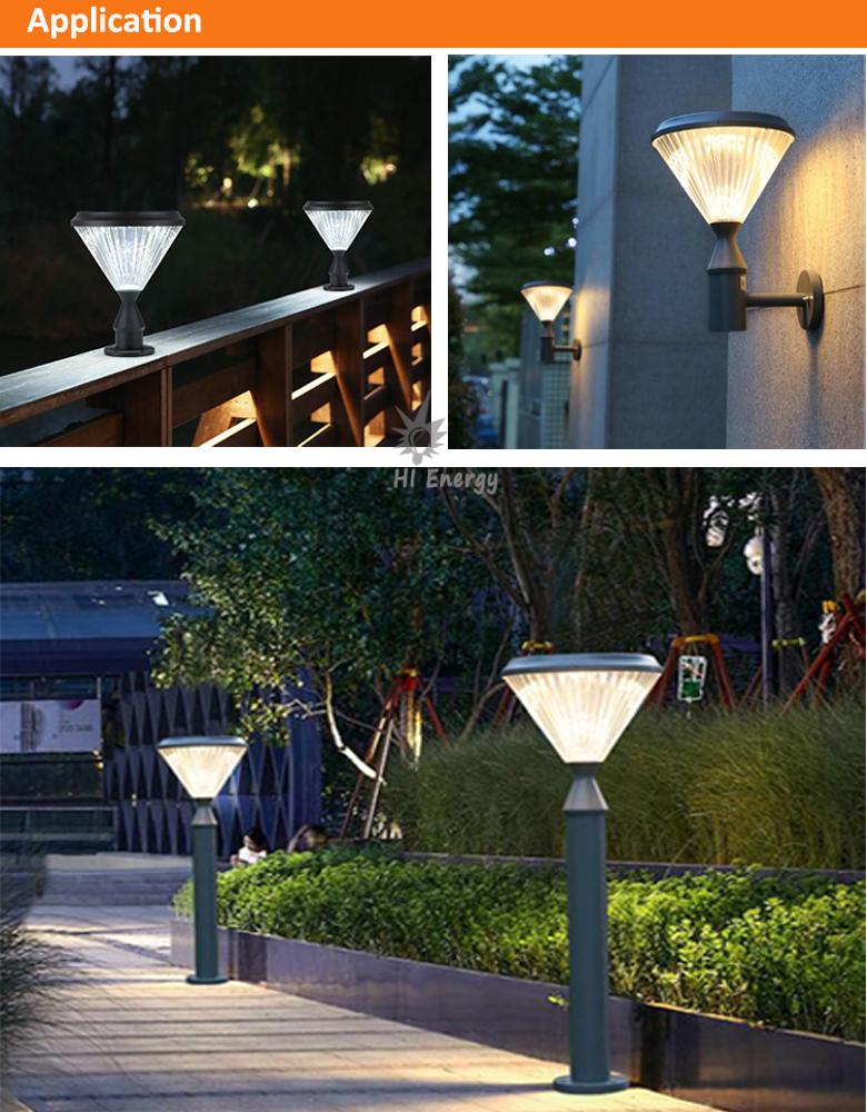 Garden outdoor exterior led wall lamp decorative wall light