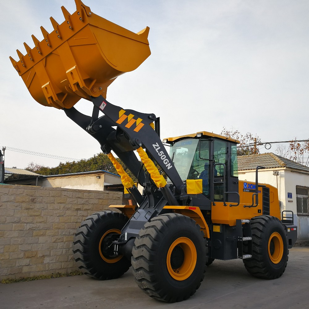 5 ton front end payloader wheel loader XCMG ZL50GN