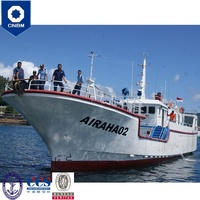 99 ft RS Classification Society Fiberglass Commercial Tuna Longline Vessel Fishing Boat with Prices for Sale Malaysia