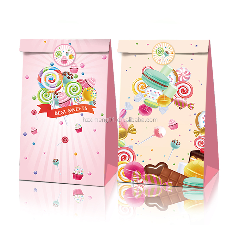 Lb010 Party Decorations Supplies Sweet Candy Theme 12 Packs Party Favors Birthday Party Kids Gift Bags Buy Lollipop Stickers Girls Gift Bag Kids Gift Bags Product On Alibaba Com
