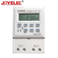 LCD Programmable Weekly 220v Outdoor Indoor Time KG316T Control Digital Electron Timer Switch