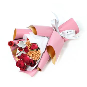2019 NEW gift set small dried flower bouquets valentine's day gift corporate anniversary gift