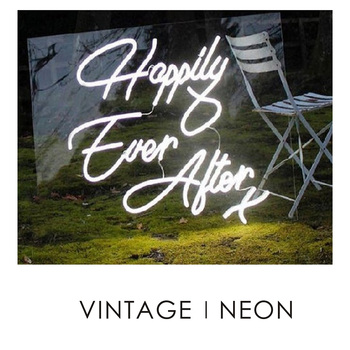happily ever after neon Customized Logo Led Lighting High Heel Neon Signs