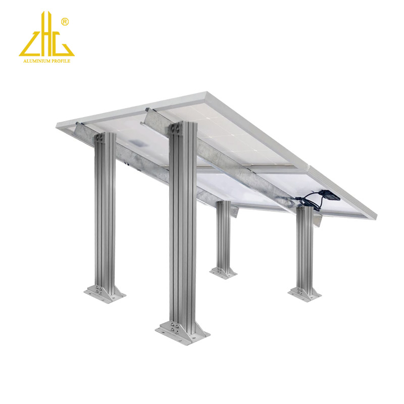 Industrial Aluminium Solar Panel Bracket Frame Profile Photovoltaic System Aluminum Solar panel Mounting Clamp 6061 6063
