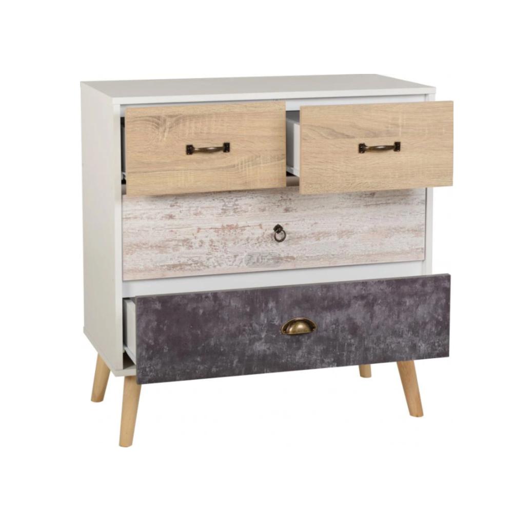 Фабрика Индивидуальные Современные деревянные хранения многих небольшой ящик шкафа с 3 5 6 ящиками