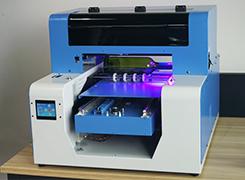 Digital inkjet โทรศัพท์กรณี a4 ขนาด uv เครื่องพิมพ์