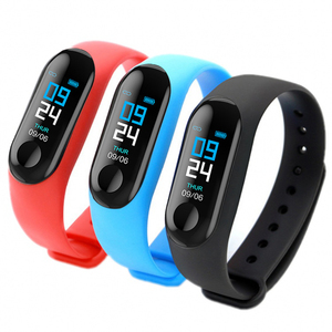 Led Wristband 2019 New Electronics Blood Pressure Sport Bracelet Men M4 Smart Watch Support Ios Android m3 fitness band