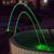 Laminar Water Jet Fountain Nozzle Laminar Water Fountain Head Programmable SUS304 316 Material with RGB LED Light