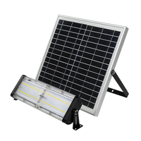 Professional lighting 50W waterproof solar barn light with remote controller