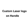 Custom Laser logo on handle