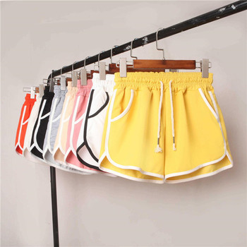 2019 summer fashion casual sporting with pocket women gym shorts