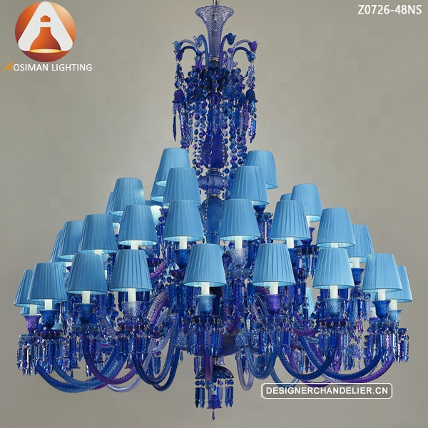 separation shoes cef07 931a8 Baccarat Blue Crystal Chandelier - Buy Baccarat Blue Crystal  Chandelier,Crystal Lighting,Crystal Lamp Product on Alibaba.com