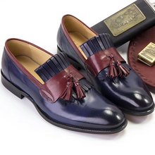 Phenkang/Мужская официальная обувь; Мужские оксфорды из натуральной кожи; Итальянские модельные свадебные туфли; Кожаные броги на шнурках; 2020(China)