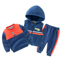 fall boutique sets manufacturers overseas plain children clothing baby clothes winter boy winter kids wear