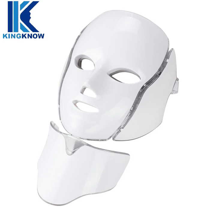 Colorful Photon Light Facial Skin Beauty Therapy 7 Colors LED Face Mask