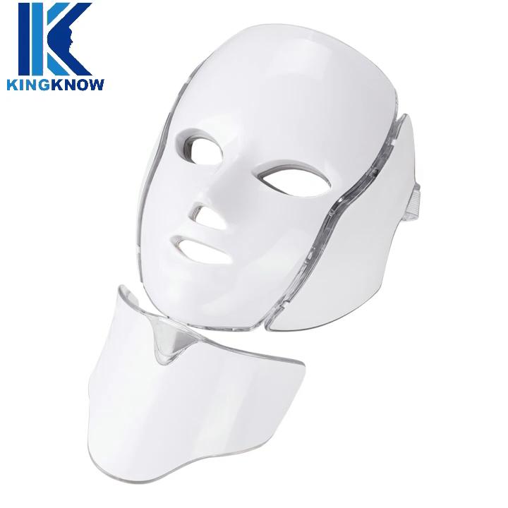 2020 New Portable LED Light Therapy Mask PDT LED Light Anti Aging portable led skin mask 7 colors