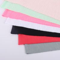 Customized New arrival Comfortable Multicolor smooth elasticity Poly Rayon Blend Fabric