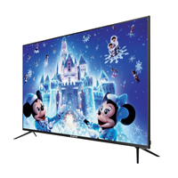 Best Selling Golden Tv Smart 4K Ultra Hd Golden Silver Color High Quality 4K Led Tv Wholesale Price Cheap Television