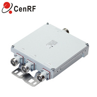 RF 3 in 1out 7/16 DIN Female DCS WCDMA LTE diplexer 3 Way Combiner