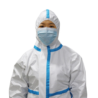 professional manufacture disposable personal medical overall protective clothing for hospital virus isolation
