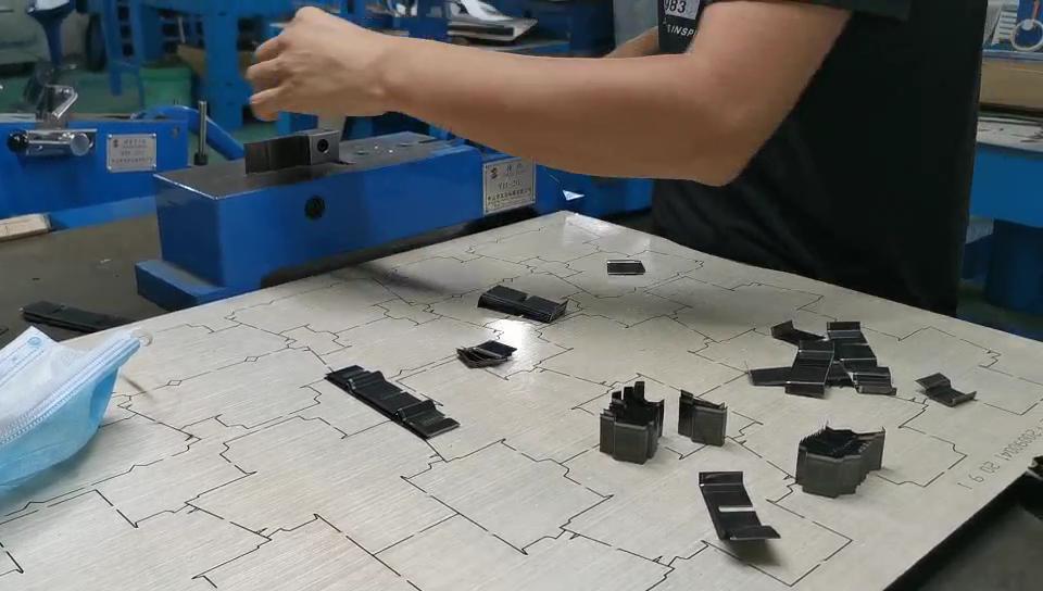 Tags cutting die wooden steel rule cutting die 23.8mm thick fit all industrial die cutters