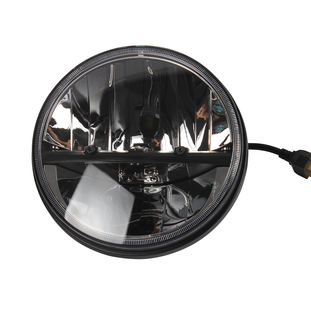USA hot selling 7'' 7 inch led headlight without DRL with DOT SAE for motorcycle off road