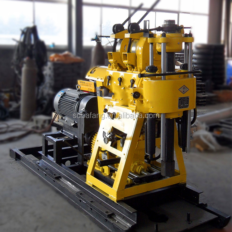 Rotary shallow hole drilling rig / 200m water well drilling rig for Sale