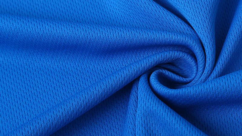 Chinese textile 130gsm 100% Polyester Good Water Absorption Dacron Mesh Fabric For Sports Suit