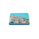 Souvenir Resin Fridge Magnet World City Tin Rectangle Epoxy Fridge Magnet