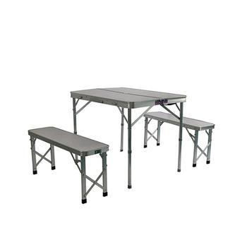 Tavolo A Valigetta Campeggio E Outdoor.Esterno Portatile Valigia Di Metallo Pieghevole In Alluminio