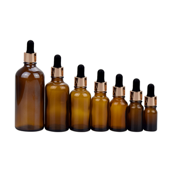 essential oil glass bottle 30ml 50ml 100ml amber glass dropper bottle