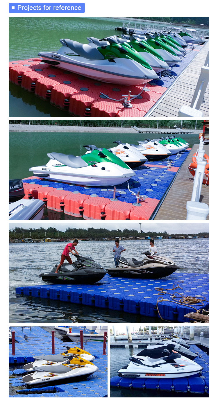 Best Supplier Marnolin jet ski floating dock floating pontoon yacht dock
