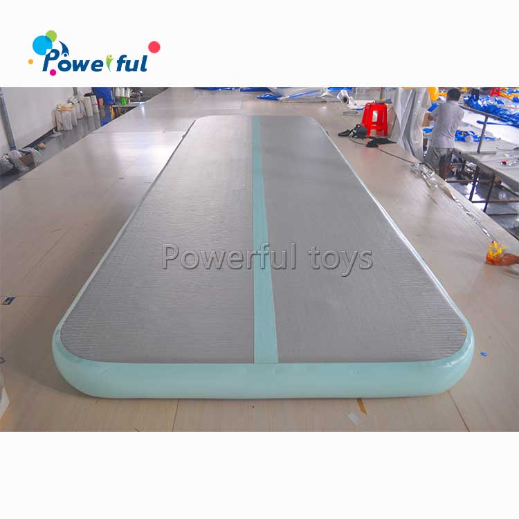 On sale Customized Logo Yoga Mat inflatable air track for gymnastics  tumbling