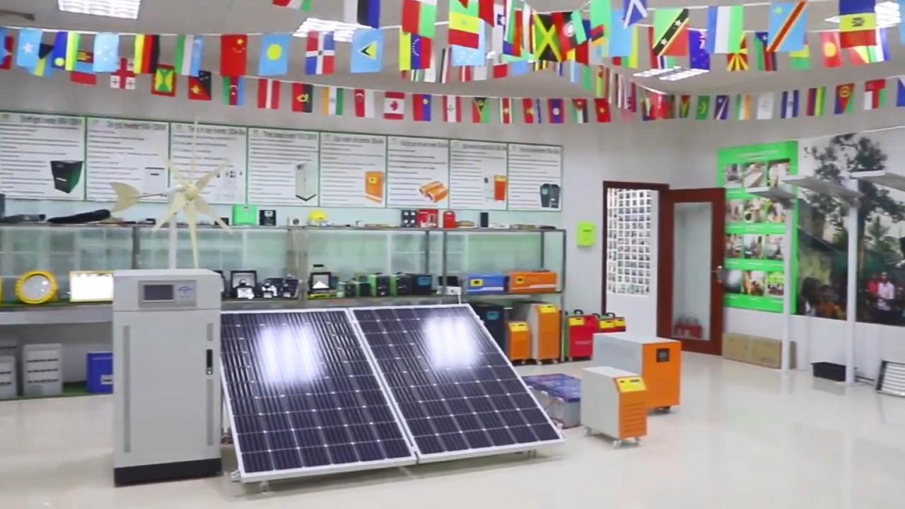 Inversor Solar de sistema 1KW 3KW 5KW 10kva panel Solar sistema de energía Solar de 1000 vatios sistema de casa con sol de respaldo de la batería