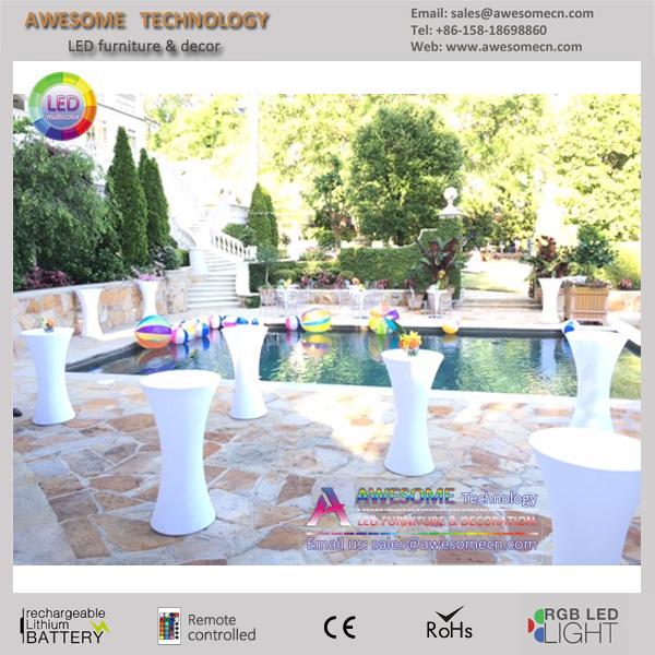theme event led furniture poseur table (TP110B)