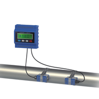 GUF120-M Digital electronic ultrasonic water low cost flow meter
