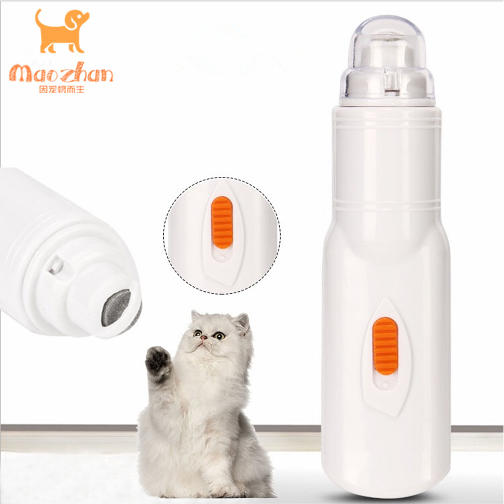 Electric Pet Nail Grinder Trimmer <strong>Hot</strong> Cat <strong>Dog</strong> Nail Clippers Pets Paws Nail <strong>Cutter</strong> Grooming Trimmer Tools