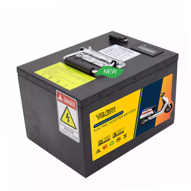 Over discharge protection rechargeable lithium-ion battery 60v 12ah