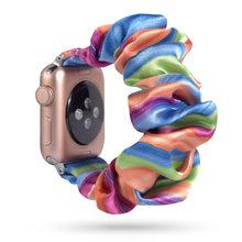 75 стилей эластичный ремешок для apple watch 38 мм 42 мм 40 мм 44 мм браслет ремень женский ремешок для часов спортивный ремешок для iwatch(Китай)