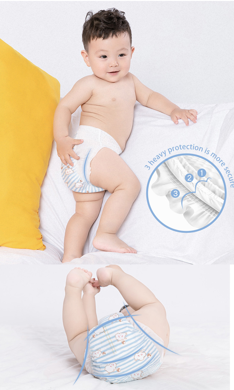 OEM/ODM Service Windel Baby Ziehen leicht Up Windel in Ballen Neue Mode Baby Hose