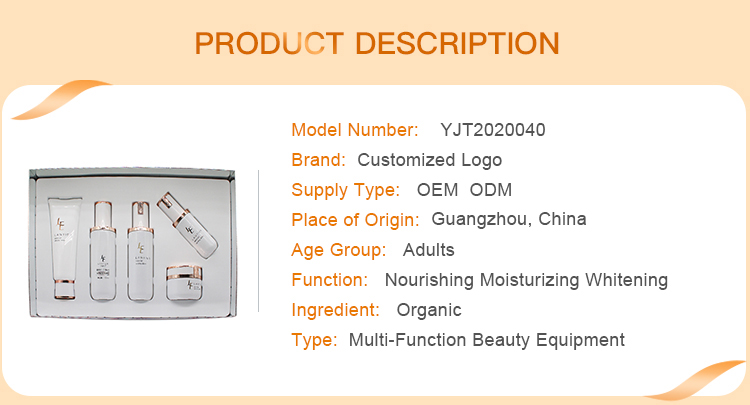 OEM Beauty no label korean acne facial care kit products organic natural private label unbranded face skin care set with logo