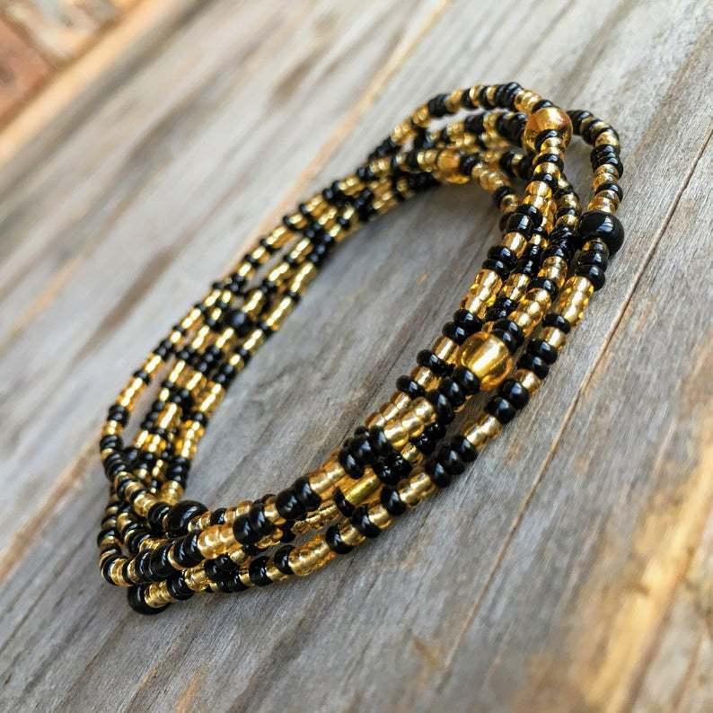 beach 2PCS bikini belly waist beads chain handmade decoration custom body jewelry waist chain girls