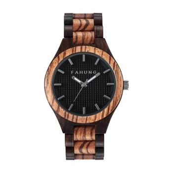 New wholesale wood smart wrist watch men women fashion wooded watch fashion quartz