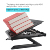 Ergonomic Portable Adjustable Foldable Laptop Stand With Phone Holder