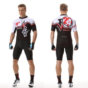 ST-06 Cycling short suit New summer short sleeve suit male bicycle clothing
