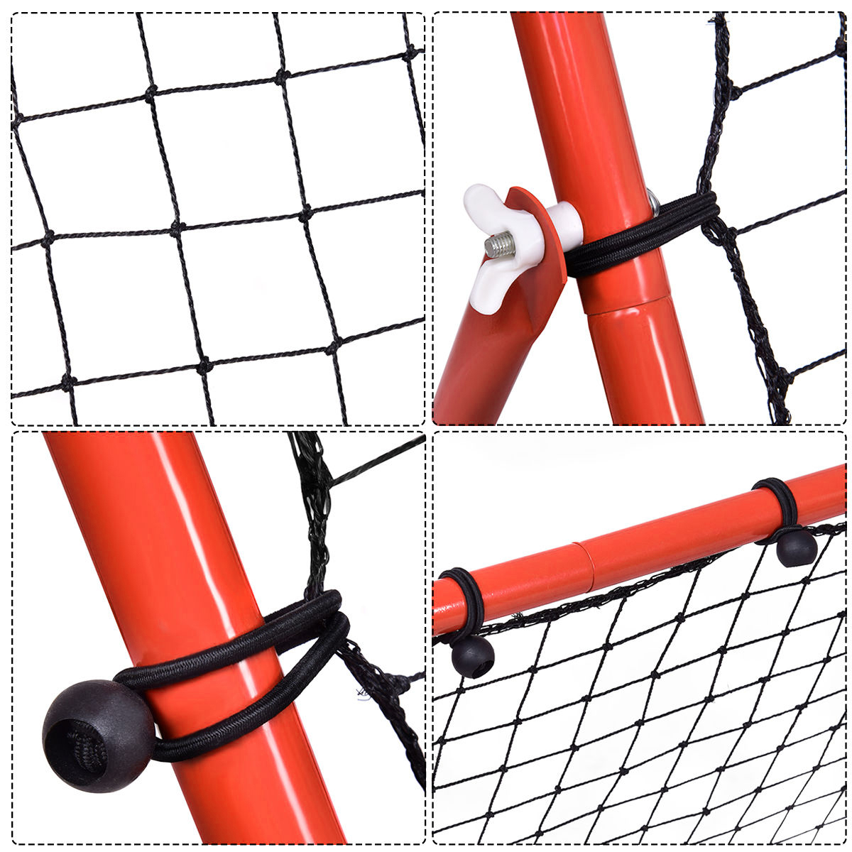 Factory supply Portable Outdoor Square sports ball rebounder soccer training,rebounder soccer goal