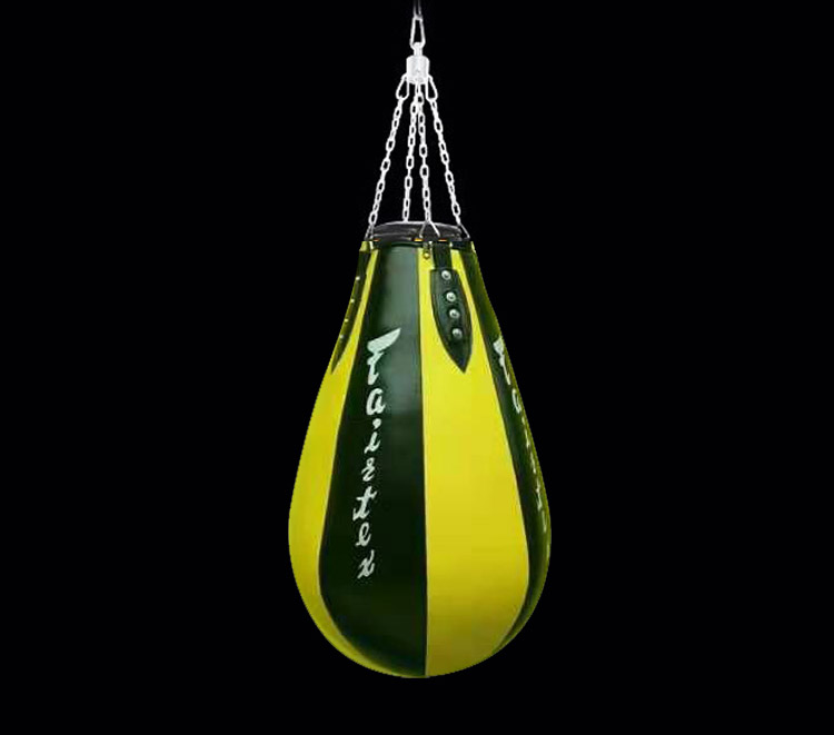 High quality pear shaped sandbags heavy sandbags hanging Muay Thai sandbags punching bag