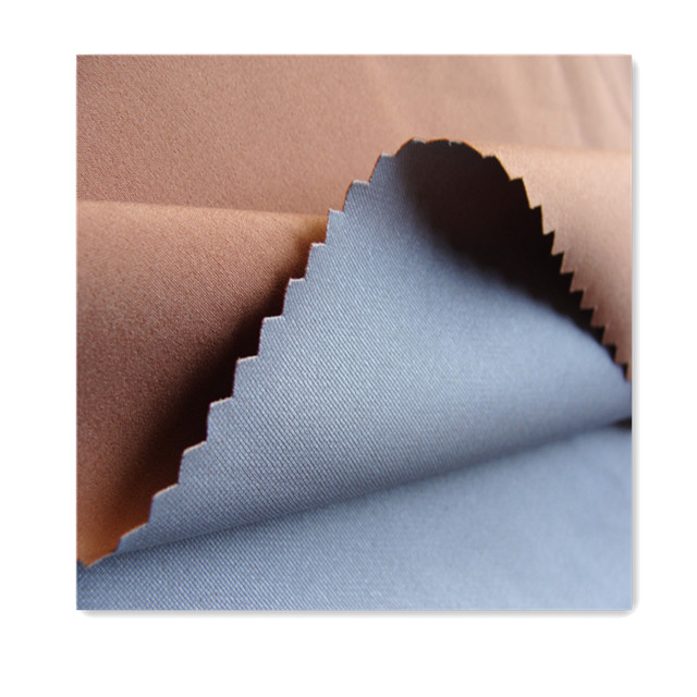 twill pongee fabric bonded with TPU for outdoor wholesale waterproof breathable