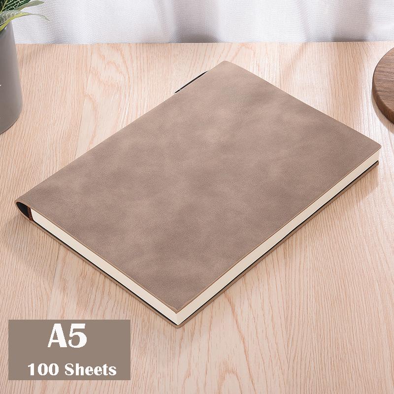 А5, мягкая кожаная обложка, Библейский блокнот, милый планировщик, на 2020 неделю, планировщик, для путешественников, простой блокнот, для студ...(Китай)