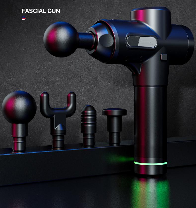 KFT 011 новые вибрации Электрический Глубокий массаж мышц тела массажер терапии панель массажный пистолет
